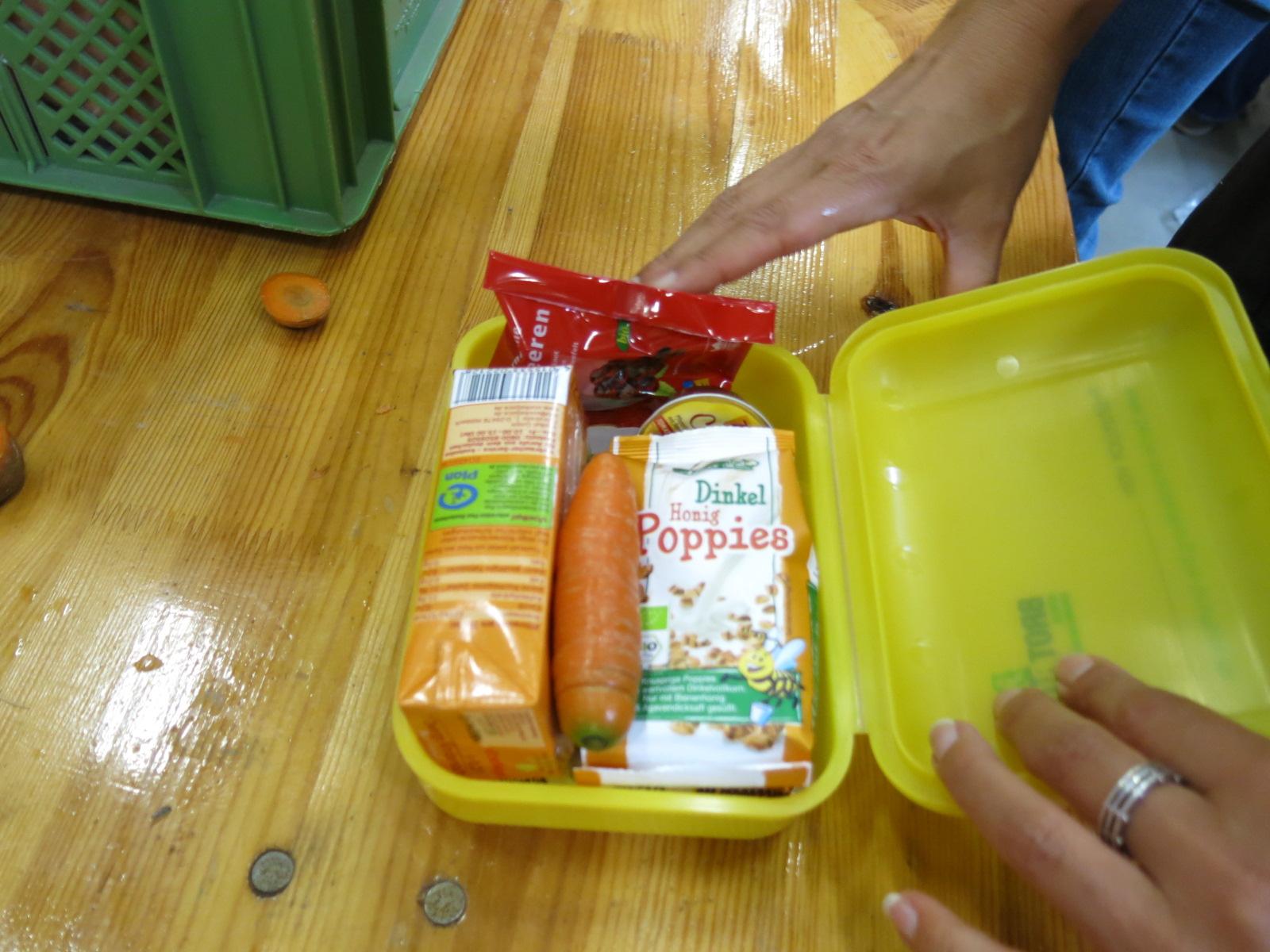 Die gefüllte Bio-Brotbox