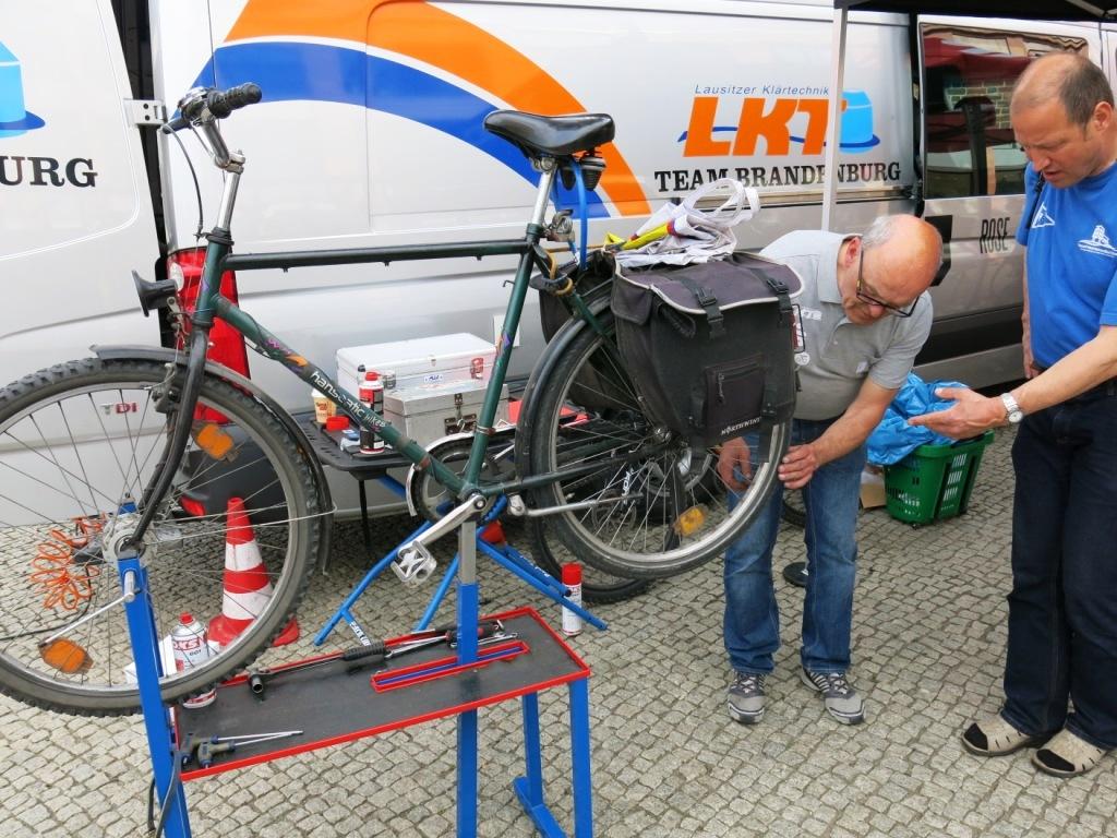 Fahrrad-Check, MBS Fahradtage in Brandenburg