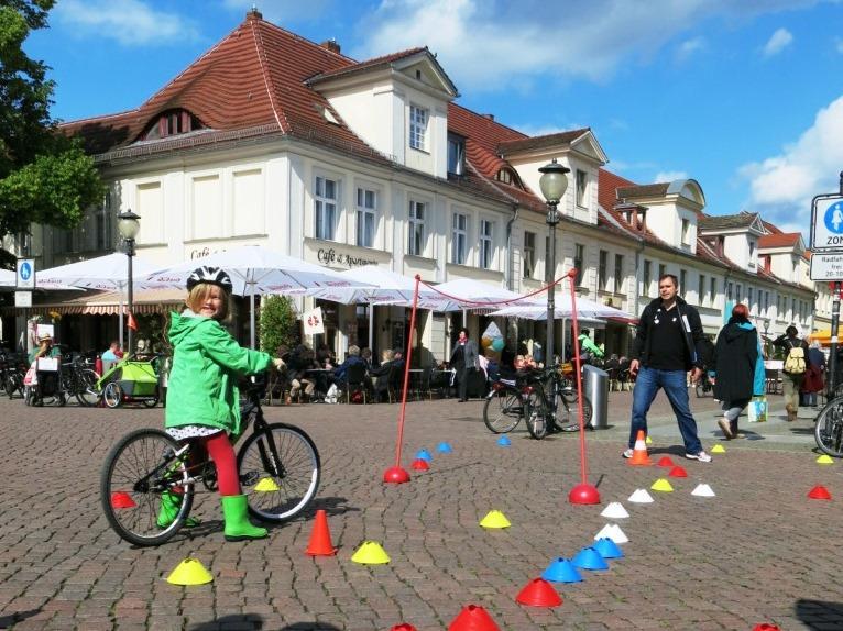 MBS-Fahrradtage in Potsdam, BMX-Parcours