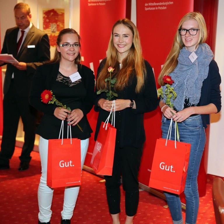 MBS Stipendiatentreffen 22.06.2015 Julia Fressner, Wanda Leschik und Laura Stage