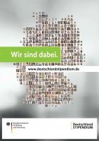Deutschlandstipendium - Wir sind dabei