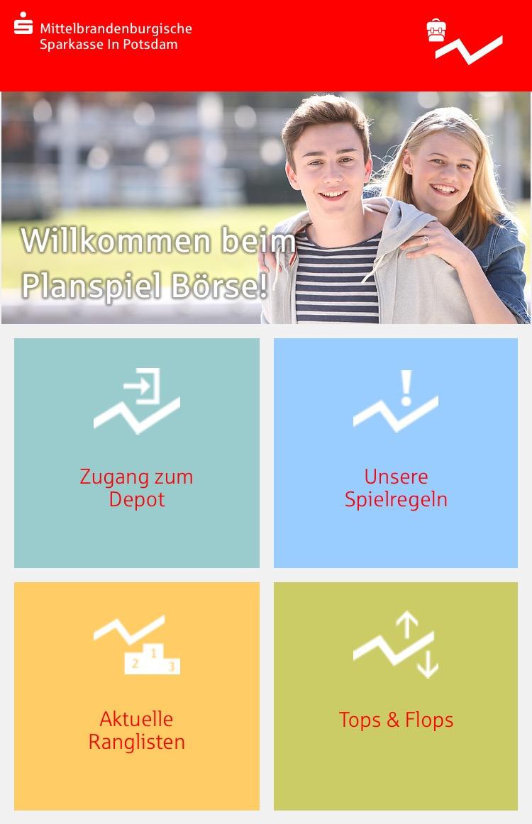 Planspiel Börse 34 Spielrunde Blog Mittelbrandenburgische Sparkasse