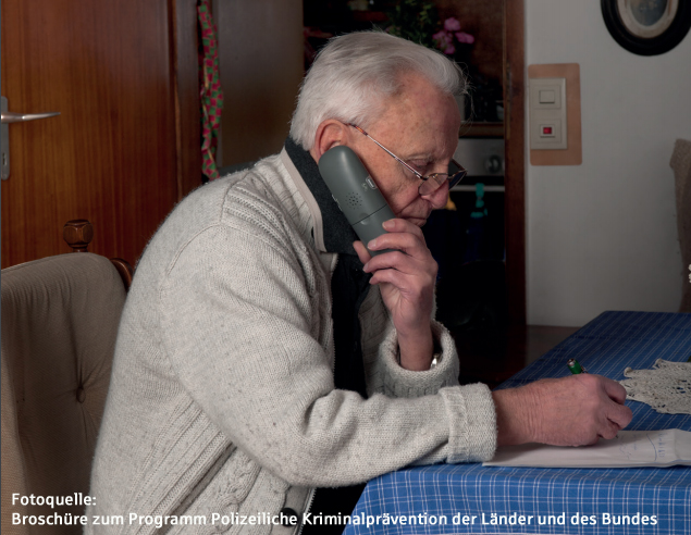 Warnung – Betrüger am Telefon