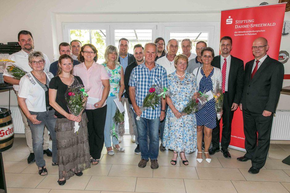 2018 06 14 Übergabe Fördermittel durch die Stiftung Dahme-Spreewald der MBS in Potsdam
