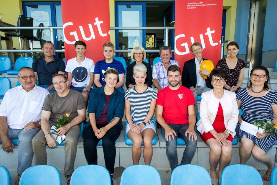 2018 06 07 Übergabe von Fördermitteln der Bildungs-, Jugend-, Kultur- und Sportstiftung Teltow-Fläming der MBS in Potsdam