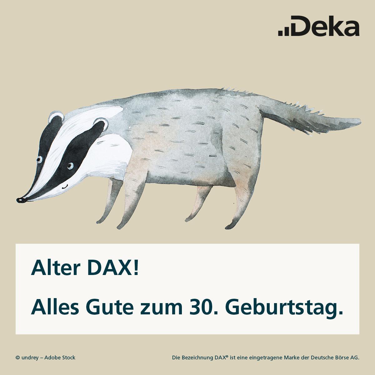 7 Fakten zum 30. Geburtstag des Deutschen Aktienindex'