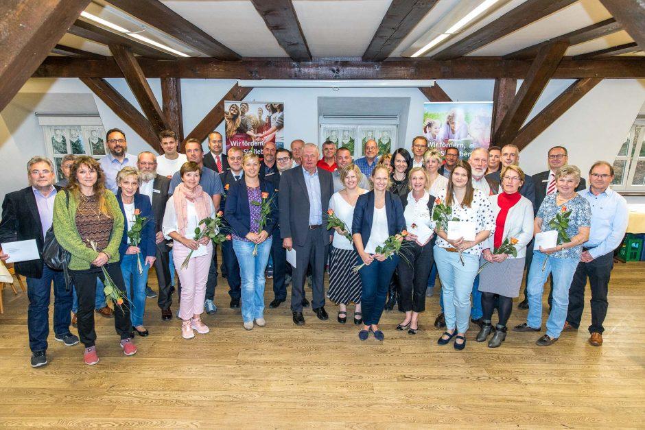 2018 10 15 Übergabe von Spenden im Potsdam-Mittelmark
