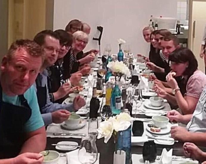 Mittelbrandenburgische Sparkasse - Leroy Ließ - Familientag - Tafel