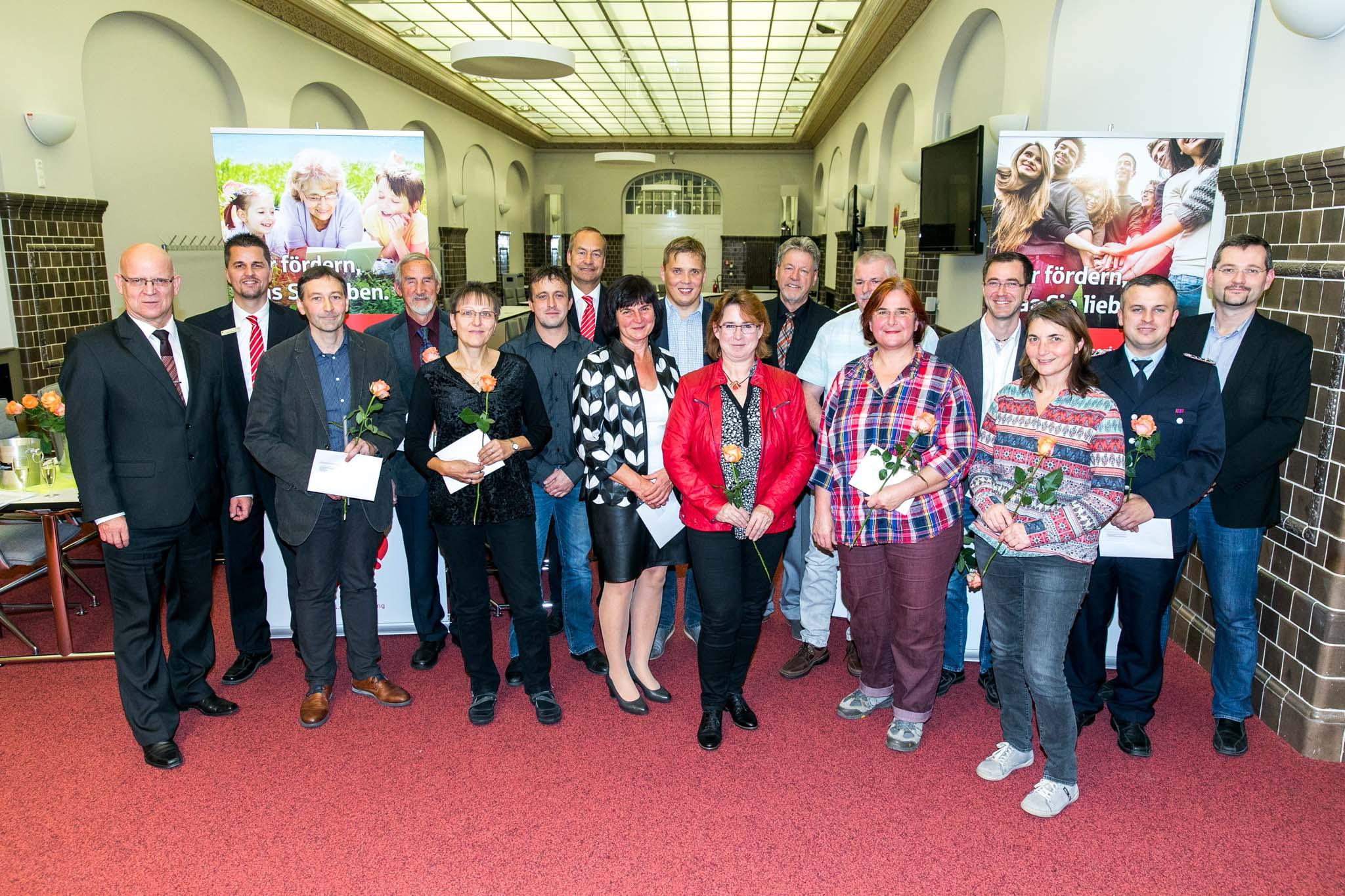 2018 11 08 Übergabe von Spenden im Landkreis Dahme-Spreewald