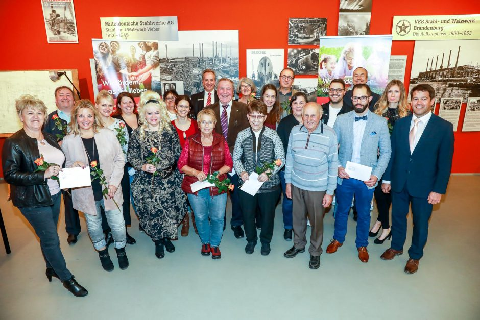 2018 11 13 Übergabe von Spenden Brandenburg an der Havel