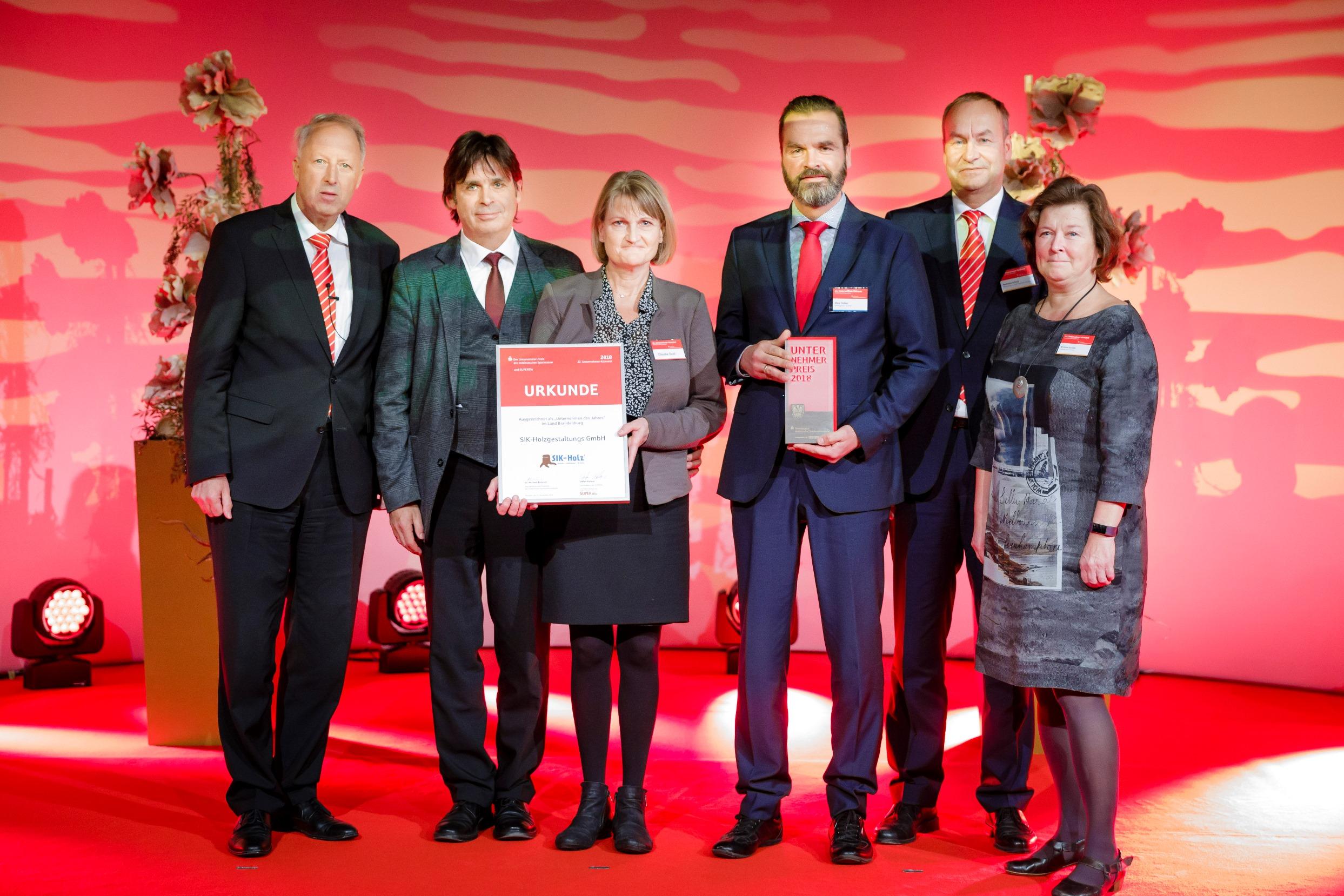 Unternehmerpreis: Träume aus Holz made in Brandenburg
