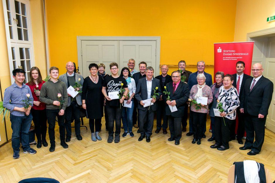 2018 11 22 Übergabe von Fördermitteln der Stiftung Dahme-Spreewald der MBS in Potsdam