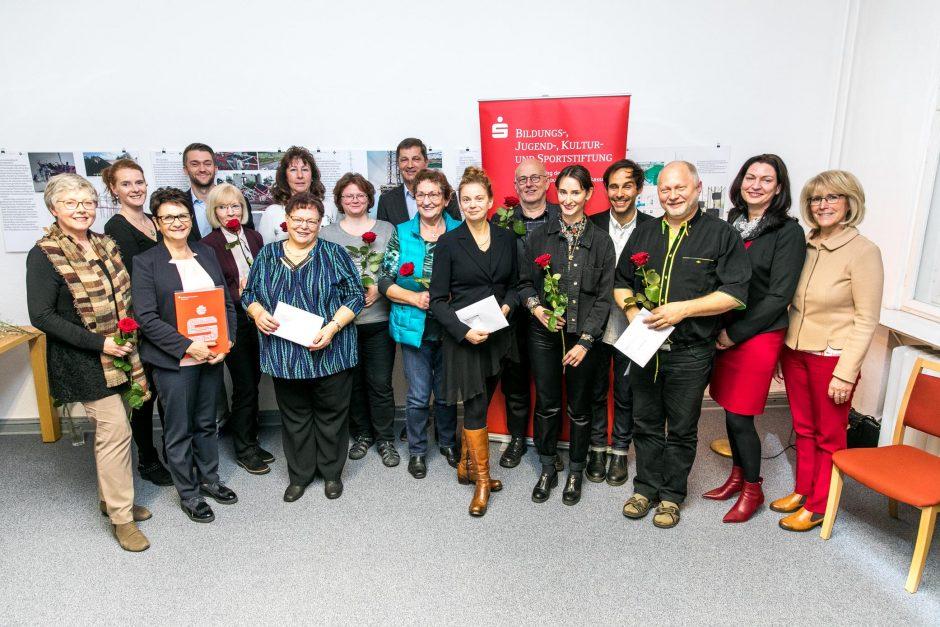 2018 11 14 Übergabe von Fördermitteln der Bildungs-, Jugend-, Kultur- und Sportstiftung Teltow-Fläming der MBS in Potsdam