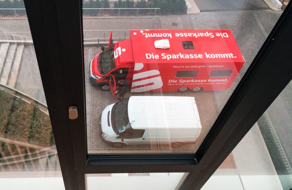 Mittelbrandenburgische Sparkasse - Sparkassenbus - rollende Filiale - Havelland