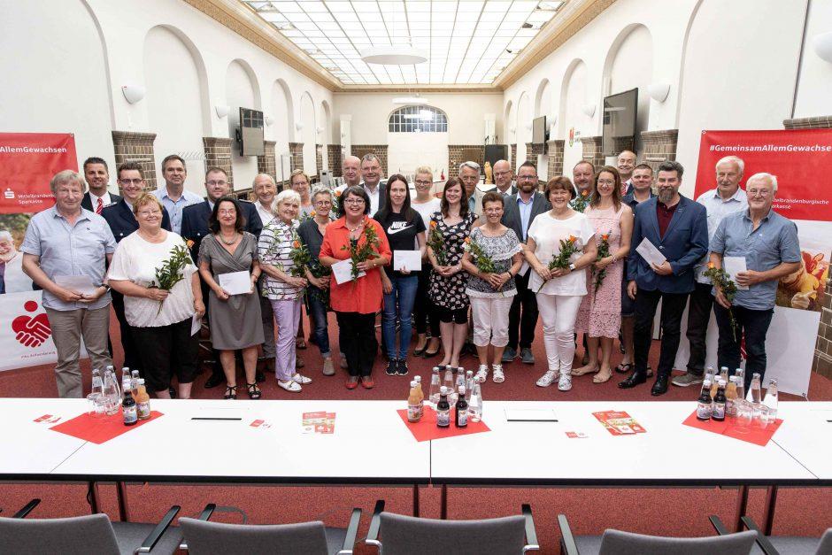 2019 06 13 Übergabe von Spenden im Landkreis Dahme-Spreewald
