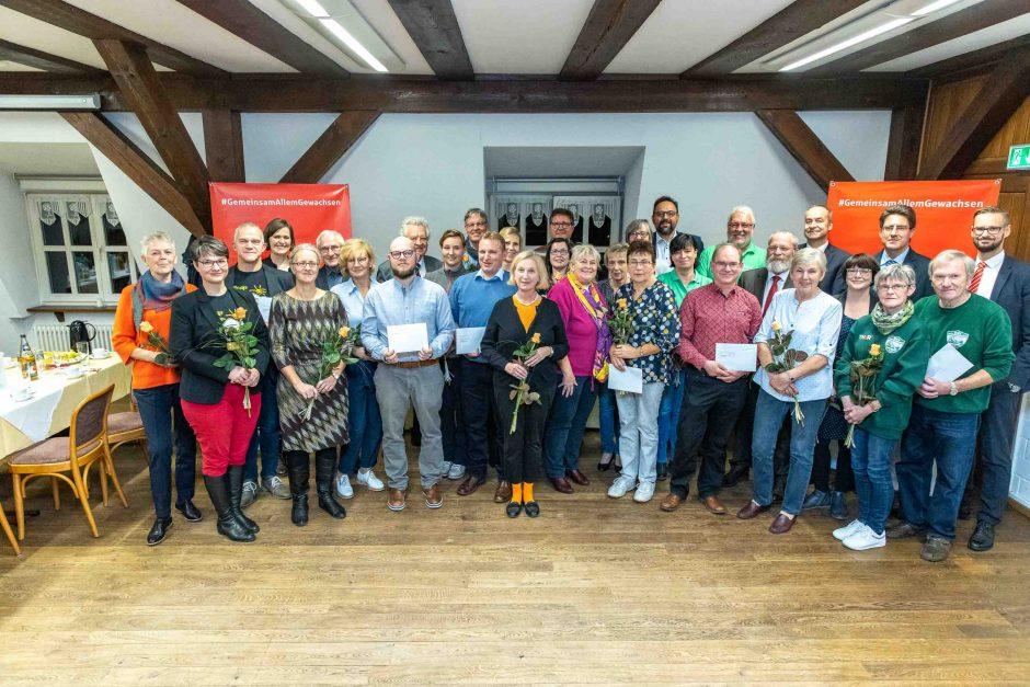 2019 11 04 Übergabe von Spenden in Potsdam-Mittelmark