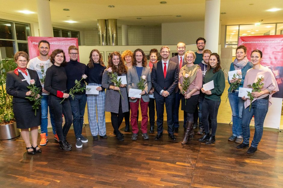 2019 11 20 Übergabe von Spenden in der Landeshauptstadt Potsdam