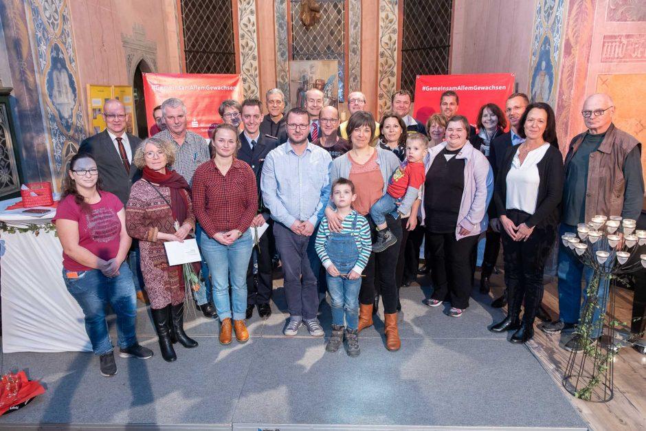 2019 11 25 Übergabe von Spenden in Dahme-Spreewald