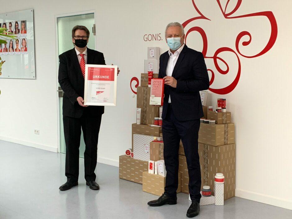 Unternehmerpreis für Gonis aus Ludwigsfelde: Sie machen die Welt bunter!